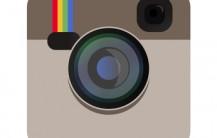 Camera icon beige color in vector