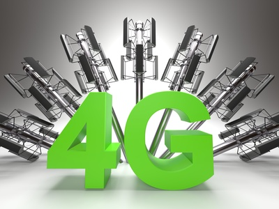 4G mobile broadband delivers faster mobile internet speeds and is likely down to the surge in mobile internet usage.