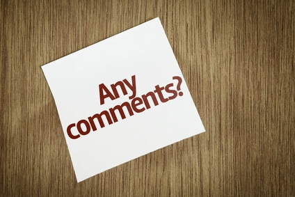 Invite comments on your blog posts and when you get them, respond to them personally to make your readers feel valued.