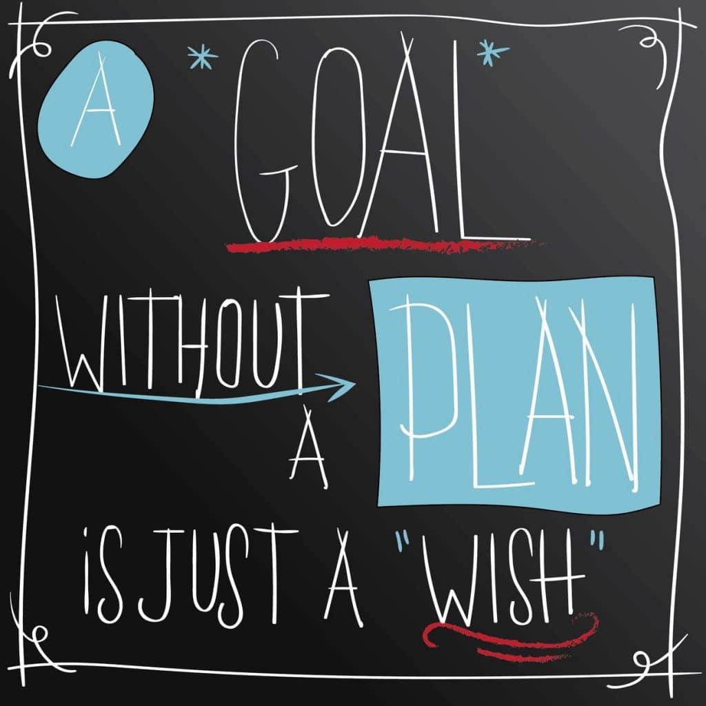 qoute about goals