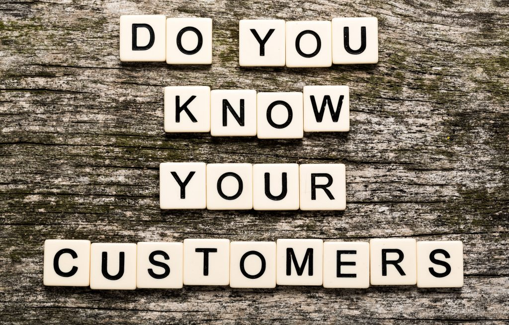 do you know customers on letter cubes