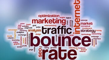 ounce rate word cloud with abstract background