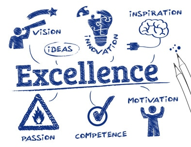 Excellence infographic
