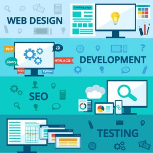 Professional website design offers an individual service at every stage.