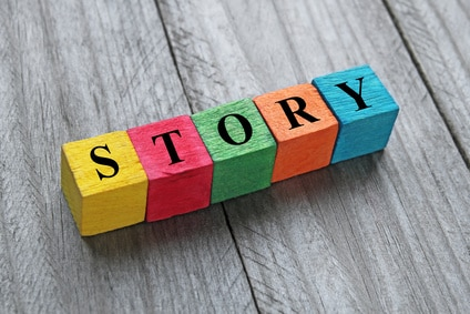 Break your story down into bitesize blocks.