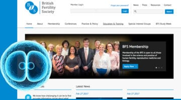 British Fertility Society Website