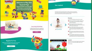 Play Doh Website