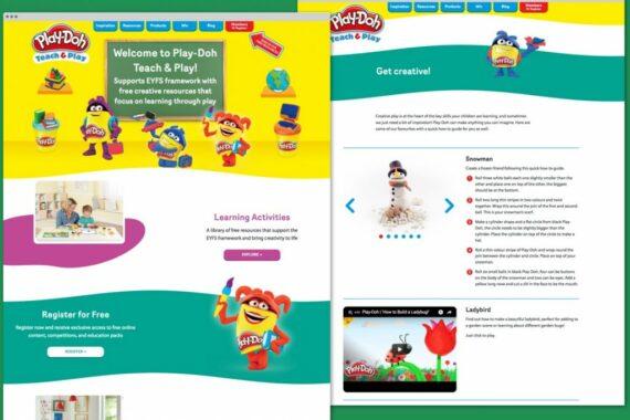 PlayDoh Website