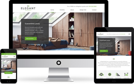 Elegant Bedrooms Website