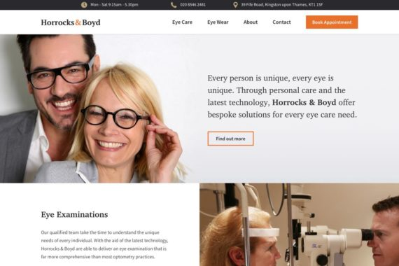 Horrocks & Boyd Website