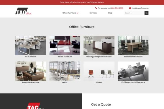 TAG Office New Website