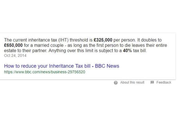 how to reduce inheritance tax