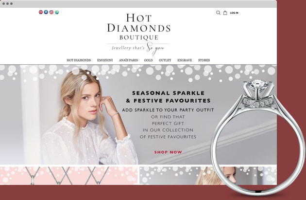 Hot Diamonds Site