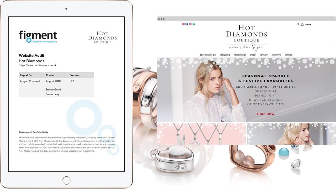 Hot Diamonds Website