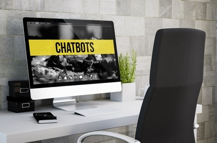 Chatbots website design 2019