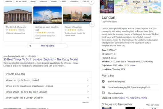 London SEO consultant explains rich snippets and structured data