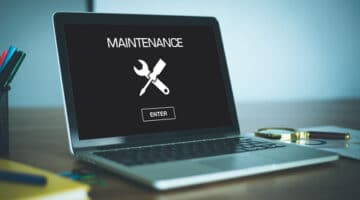 Web development agency London on website maintenance