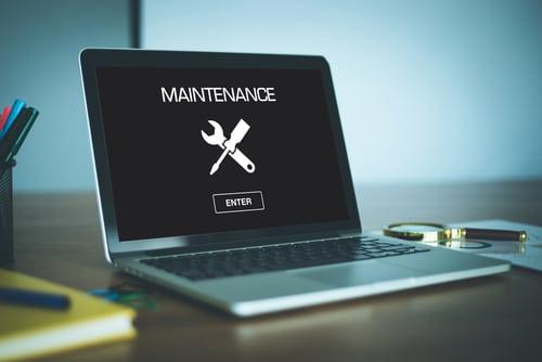 Web development agency London on website maintenance